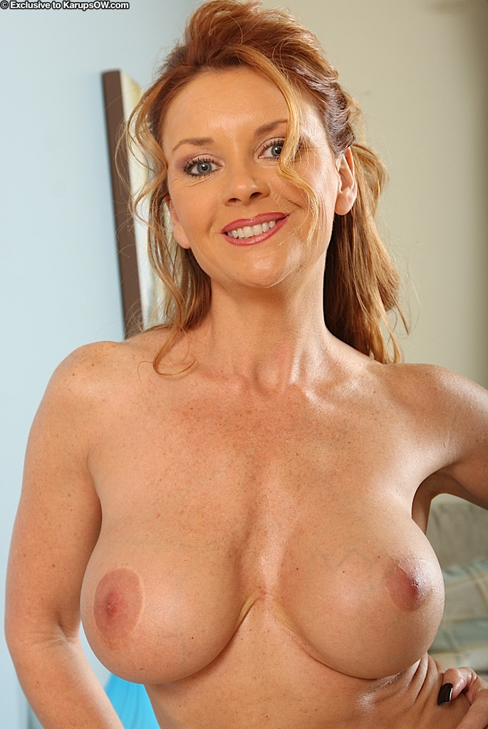Middle aged big boobs