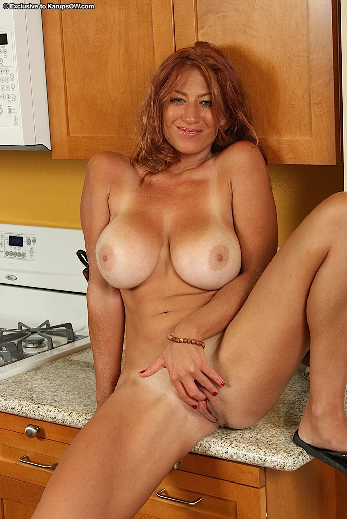 tan milf lines brunette Mature